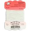 Elastic White Bead Cord 18.2m